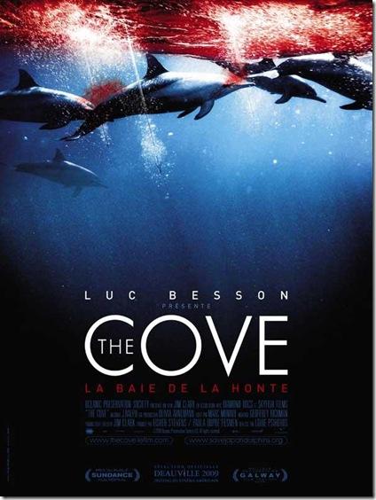L'affiche du film de The Cove - La Baie de la Honte