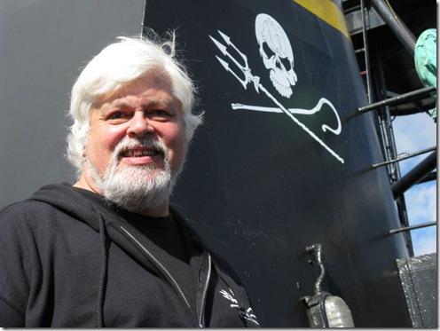 Lisamorgan - L'héroïque Capitaine Paul Watson à bord du Steve Irwin