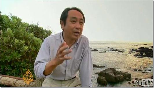 Reportage Al Jazeera à Taiji - Un des deux conseillers municipaux ayant témoigné dans The Cove