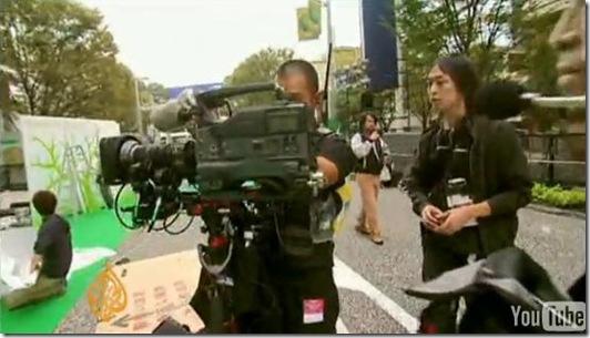 Reportage d'Al Jazeera sur Taiji - Les préparatifs du Festival International du Film de Tokyo (2009)