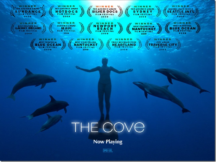 Affiche du film The Cove