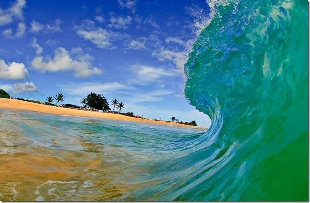 Eric Nelson - Photo absolument magnifique d'une vague