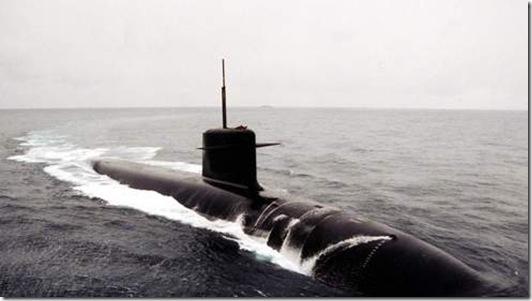 Sous-marin nucléaire - Photo Le Figaro