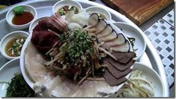 De la viande de baleine en Corée du Sud