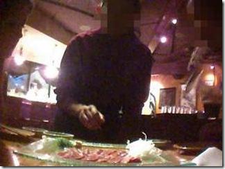 Les images tournées par l'équipe de The Cove dans le restaurant californien qui vendait des sushis de baleines