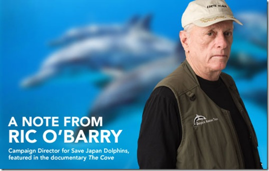 Ric O'Barry, le fondateur de Save Japan's Dolphins