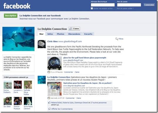 La Dolphin Connection Compte 3000 Membres Sur Facebook !