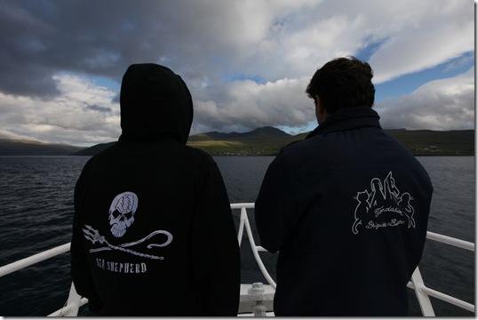 Le Sea Shepherd et la fondation Brigitte Bardot sont présents aux îles Féroé - Photo : Fondation.Brigitte.Bardot