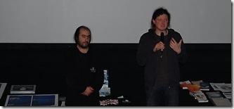 Projection de The Cove au Havr le 10 décembre 2009 en compagnie de Chris
