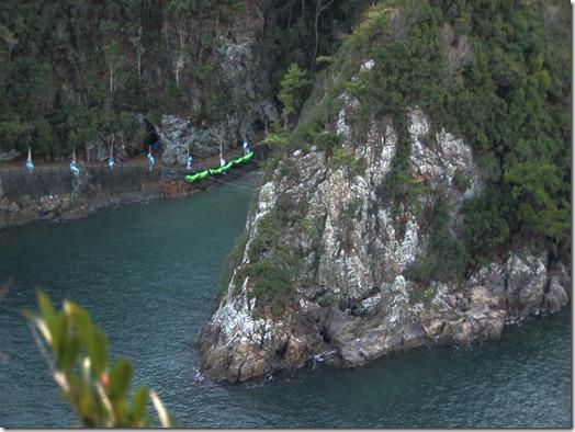 La crique où se déroulent les massacres de dauphins à Taiji - Photo : Oceanic Preservation Society