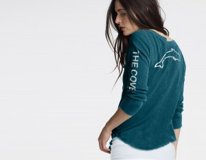 T-Shirt The Cove Femme