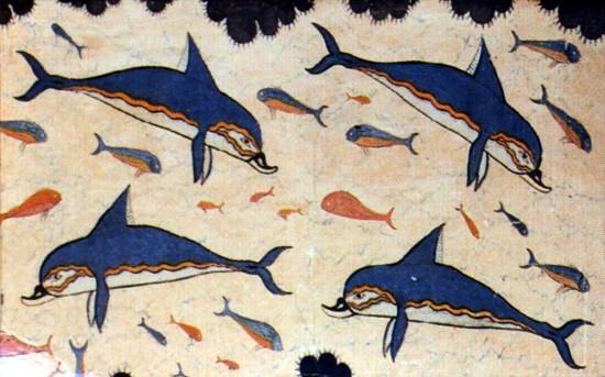 Les dauphins dans l'antiquité