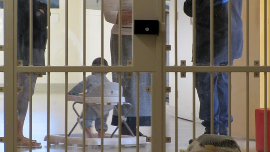 Bébé humain né en prison