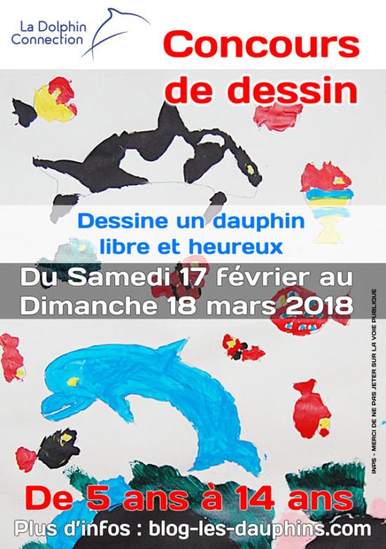 Affiche du concours de dessin (cliquer pour agrandir)